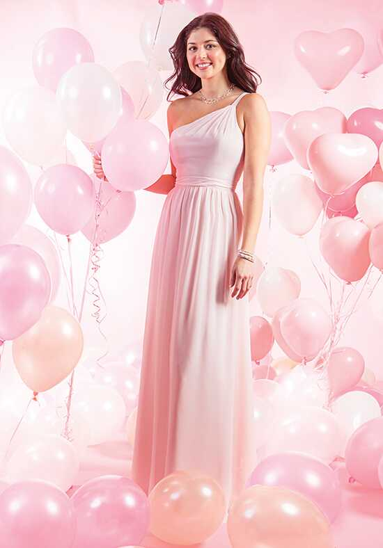 Alfred Angelo Signature Bridesmaids Collection 7388L One Shoulder Bridesmaid Dress
