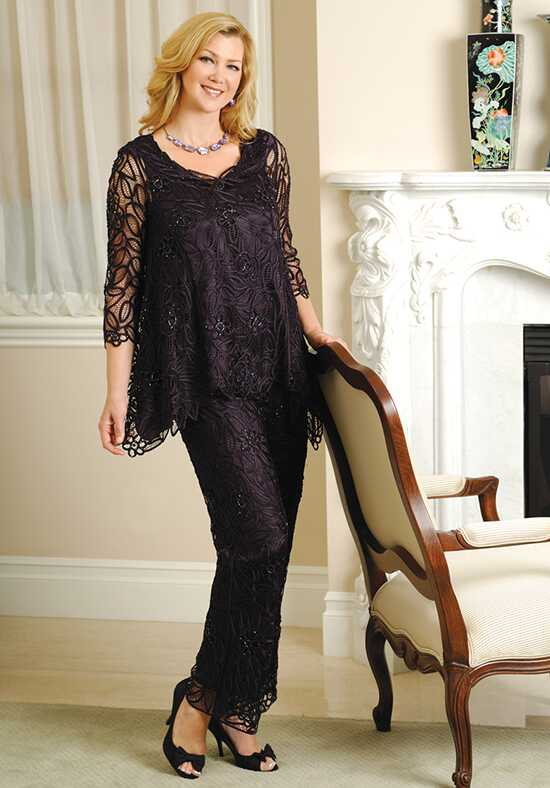 LuxeLace by Soulmates C8057 Black Mother Of The Bride Dress