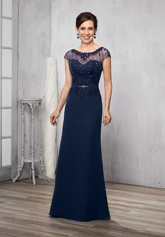 Beautiful Mothers by Mary's M783 Blue Mother Of The Bride Dress