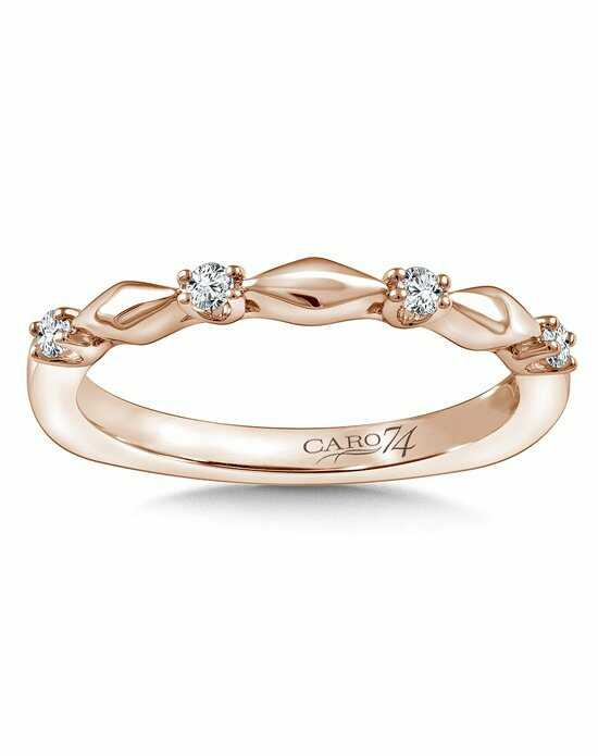 Caro 74 CRS813BP Rose Gold Wedding Ring