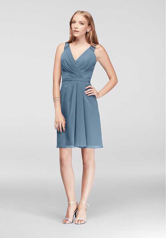 David's Bridal Collection David's Bridal Style F19439M V-Neck Bridesmaid Dress