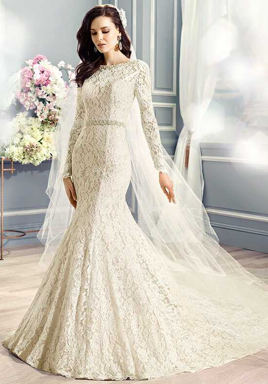 Moonlight Couture H1282 Mermaid Wedding Dress