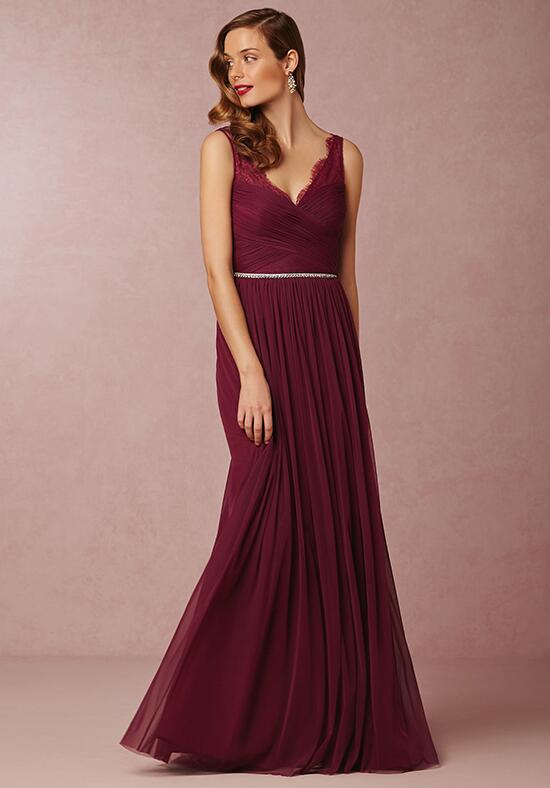 BHLDN (Bridesmaids) Fleur-Red Bridesmaid Dress photo