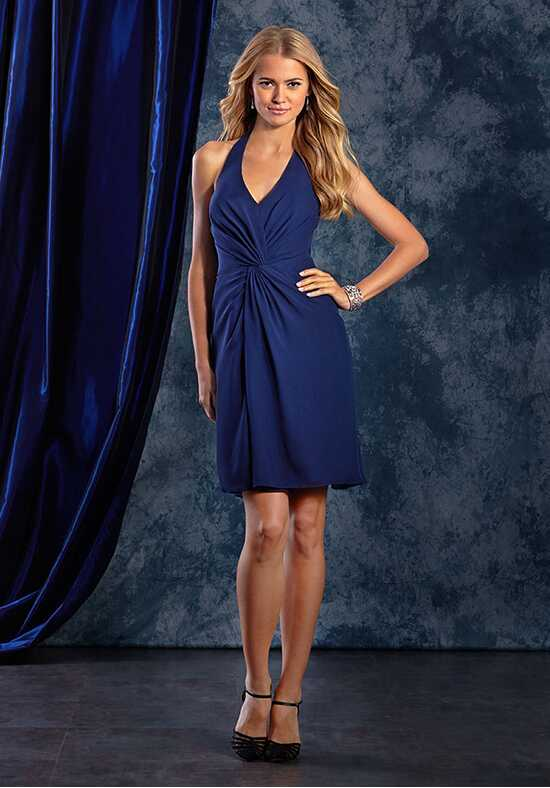 Alfred Angelo Sapphire Bridesmaid Collection 8124AS Halter Bridesmaid Dress
