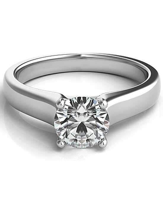 Since1910 Classic Round Cut Engagement Ring