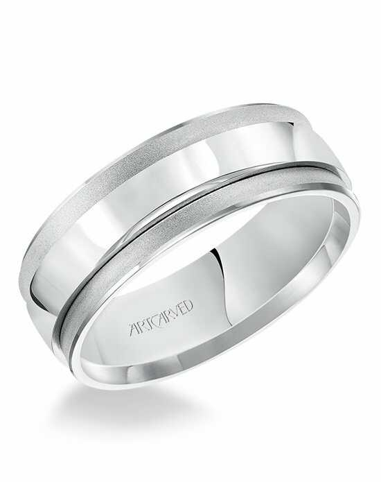 ArtCarved 11-WV7475W White Gold Wedding Ring