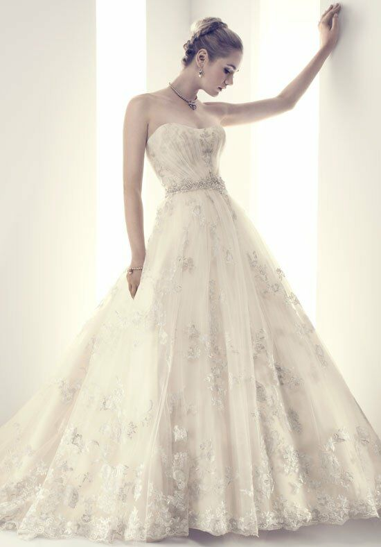Cb couture b081 wedding dress the knot for Cb couture wedding dresses