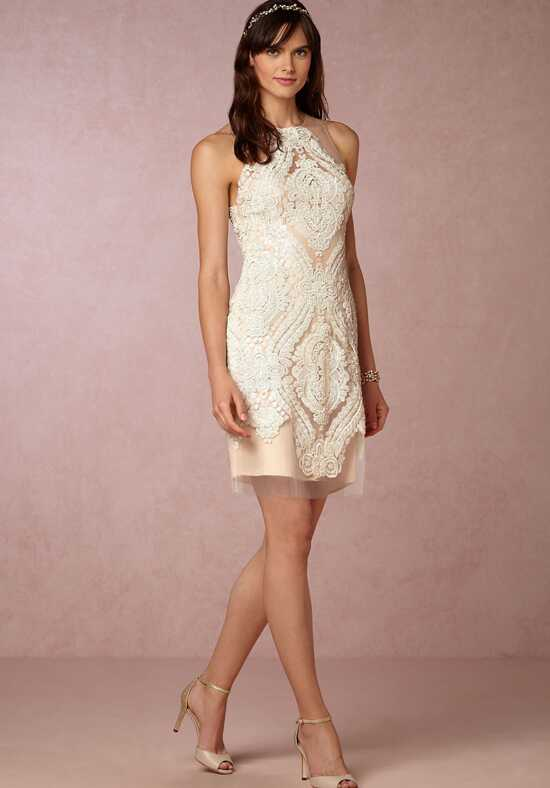 BHLDN Loretta Shift Dress Sheath Wedding Dress