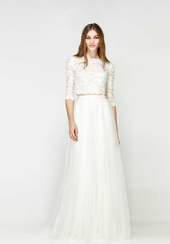 Willowby by Watters Lanikai Crop Top 56115 / Amora Skirt 55612 A-Line Wedding Dress