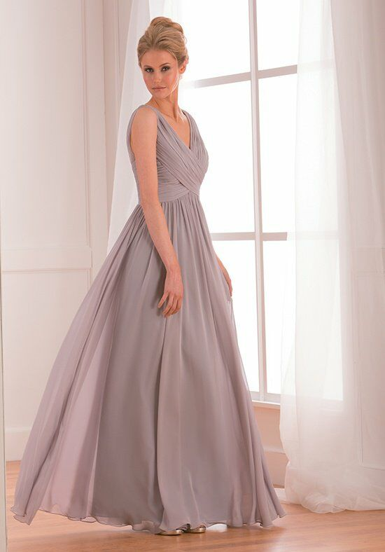 B2 by Jasmine B173002 V-Neck Bridesmaid Dress