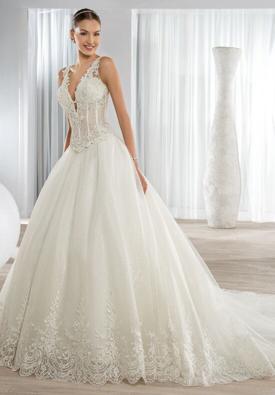 Demetrios 650 Ball Gown Wedding Dress