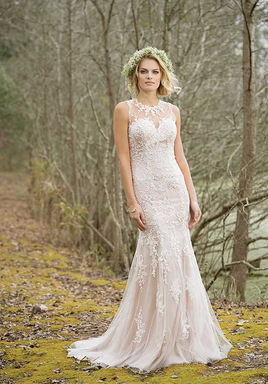 Lillian West 6464 A-Line Wedding Dress