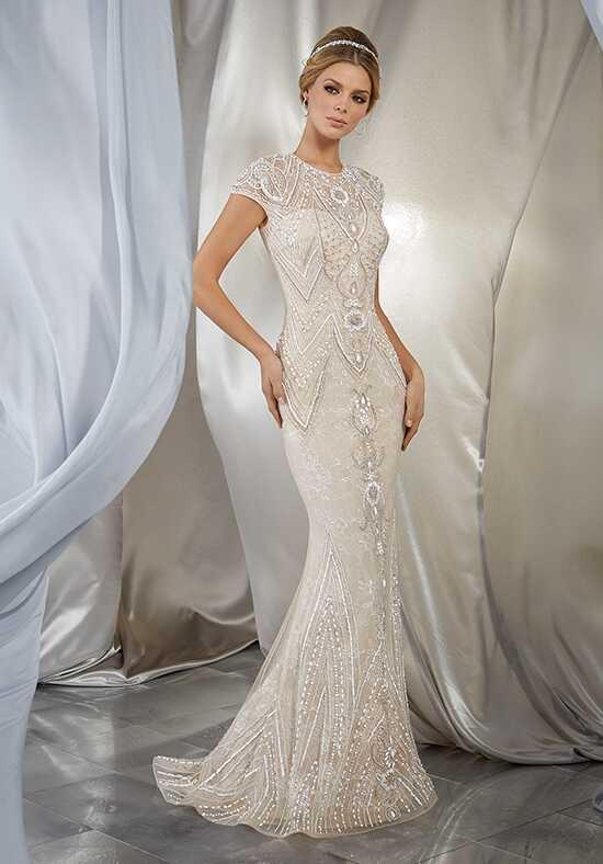 Morilee By Madeline Gardner Voyage Musidora Style 6869 Sheath Wedding Dress