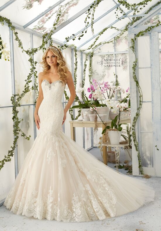 Morilee by Madeline Gardner 2804 Mermaid Wedding Dress