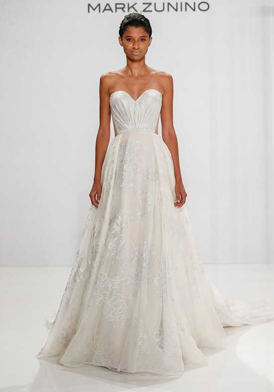 mark zunino for kleinfeld 189 a line wedding dress