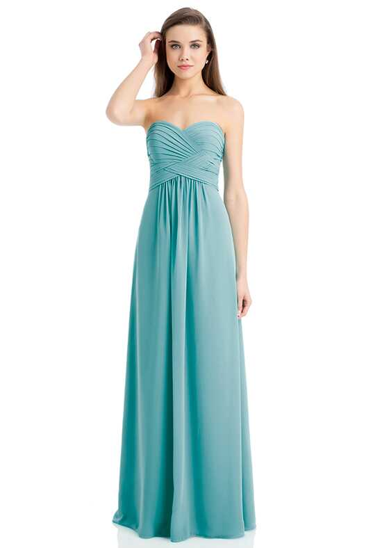 Bill Levkoff 741 Strapless Bridesmaid Dress