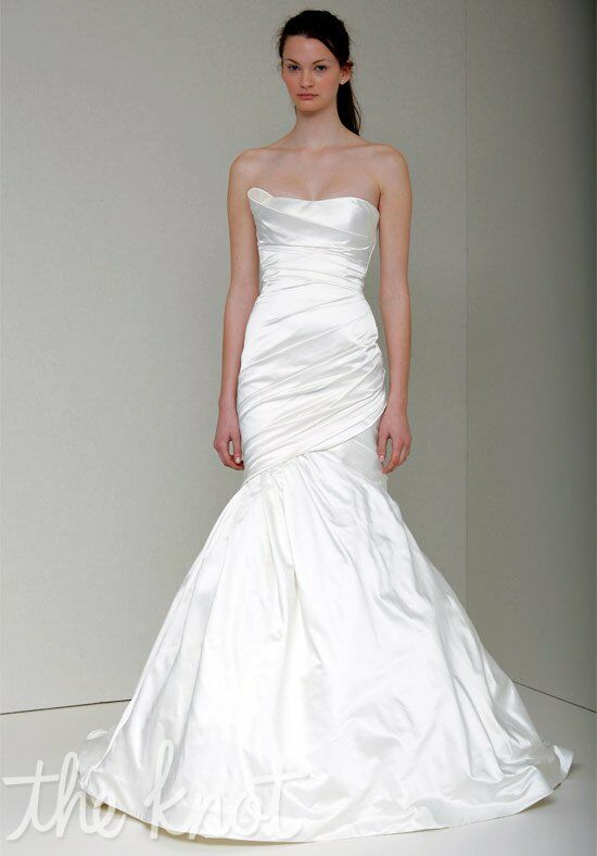 Monique lhuillier georgia wedding dress the knot for Wedding dresses in ga