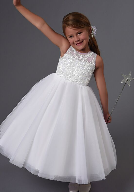 Cupids by Mary's F557 Ivory Flower Girl Dress