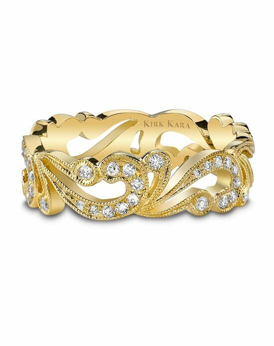 Kirk Kara Angelique Collection SS6967-B Gold Gold Wedding Ring
