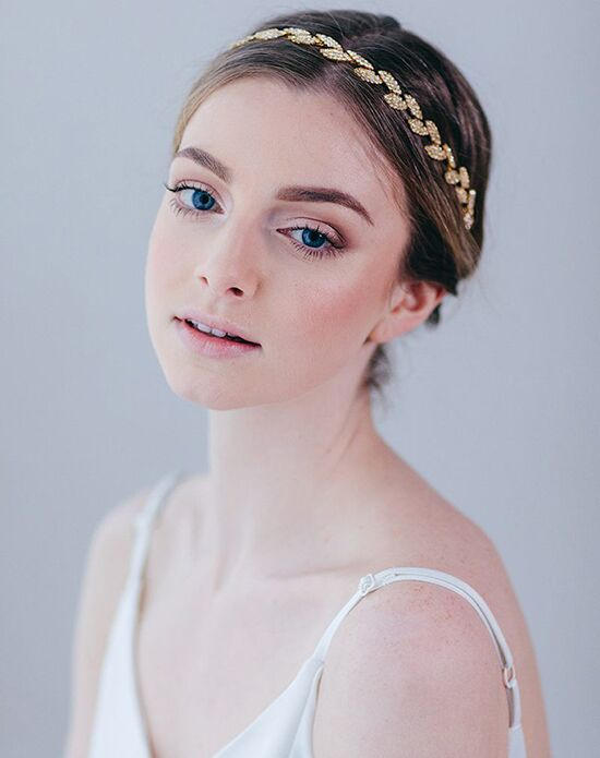 Davie & Chiyo | Hair Accessories & Veils Gilded Ivy Hair Vine Gold, Pink, Silver Headband
