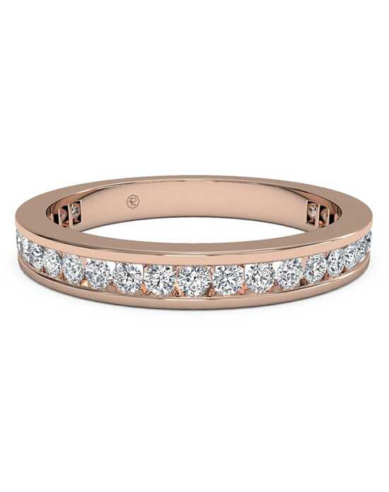 Ritani Women's Channel-Set Diamond Eternity Wedding Ring - in 18kt Rose Gold - (0.55 CTW) Rose Gold Wedding Ring