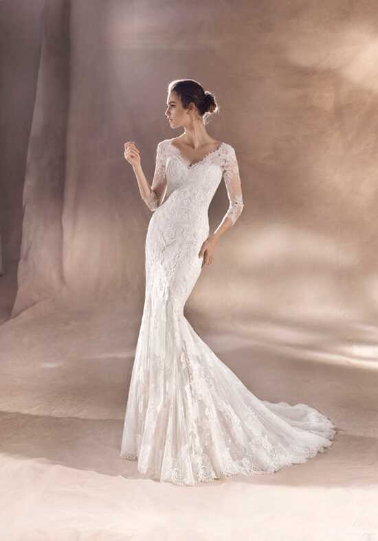 WHITE ONE SAYDE Mermaid Wedding Dress