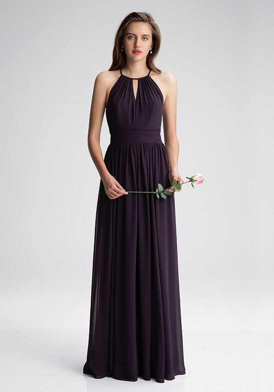 #LEVKOFF 7002 Halter Bridesmaid Dress