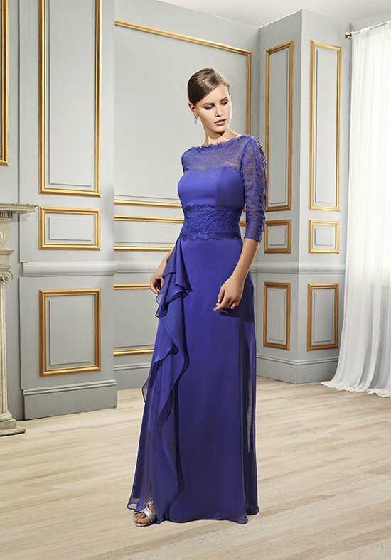 Val Stefani Celebrations MB7514 Blue Mother Of The Bride Dress