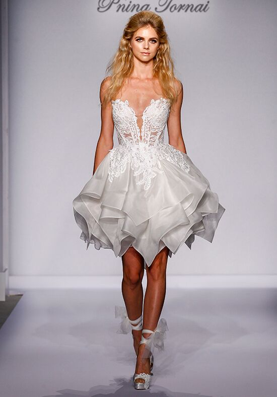 Pnina Tornai for Kleinfeld 4464 A-Line Wedding Dress