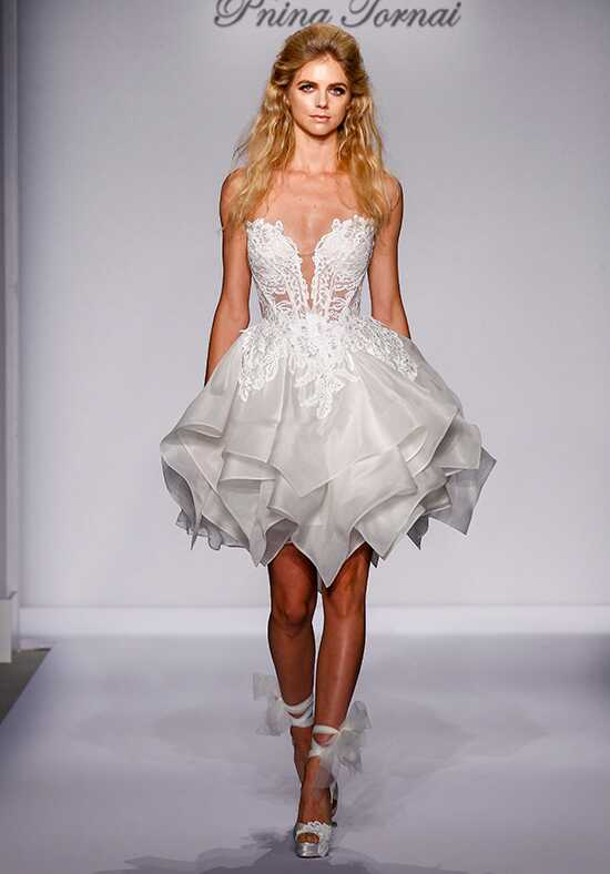 Pnina Tornai for Kleinfeld 4464 Wedding Dress photo