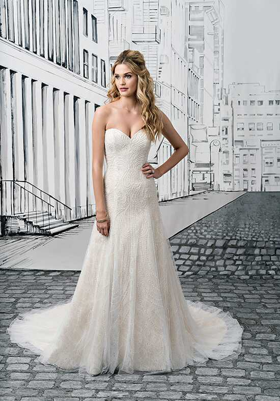 Justin Alexander 8906 A-Line Wedding Dress