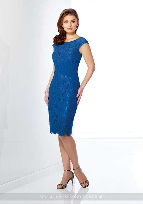 Social Occasions by Mon Cheri 216875 Blue Mother Of The Bride Dress