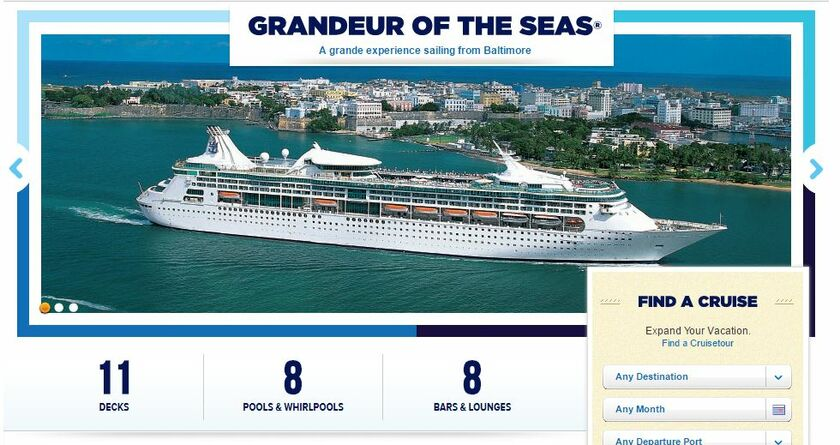 Laura Benevento And Sean Palmers Wedding Website - Cruise ships that leave from baltimore md