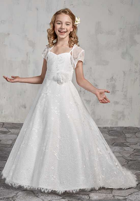 Mary's Angel by Mary's Bridal MB9014 Ivory Flower Girl Dress