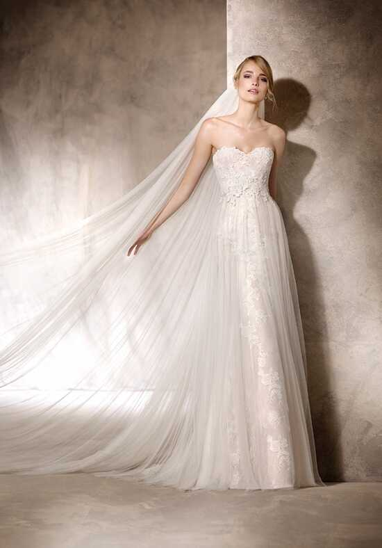 LA SPOSA HAYUCO Sheath Wedding Dress