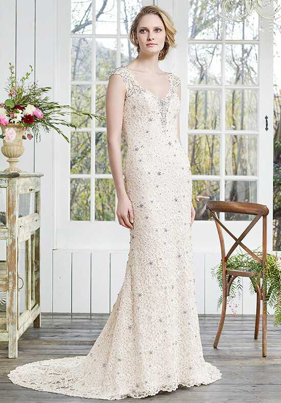 Casablanca Bridal 2258 Violet Sheath Wedding Dress