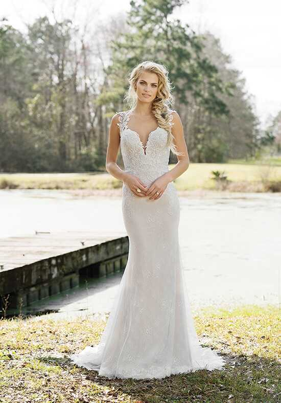 Lillian West 6452 A-Line Wedding Dress