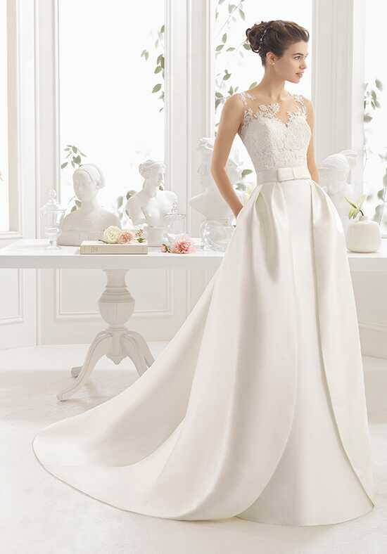 Aire Barcelona Chantal Sheath Wedding Dress