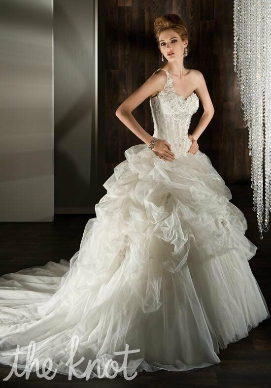 Demetrios 2848 Ball Gown Wedding Dress
