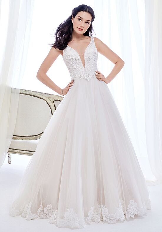 Kenneth Winston: Ella Rosa Collection BE418 Wedding Dress - The Knot
