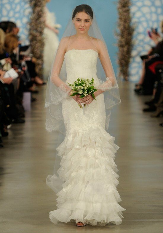 Oscar de la Renta Bridal 2014 Look 3 Mermaid Wedding Dress