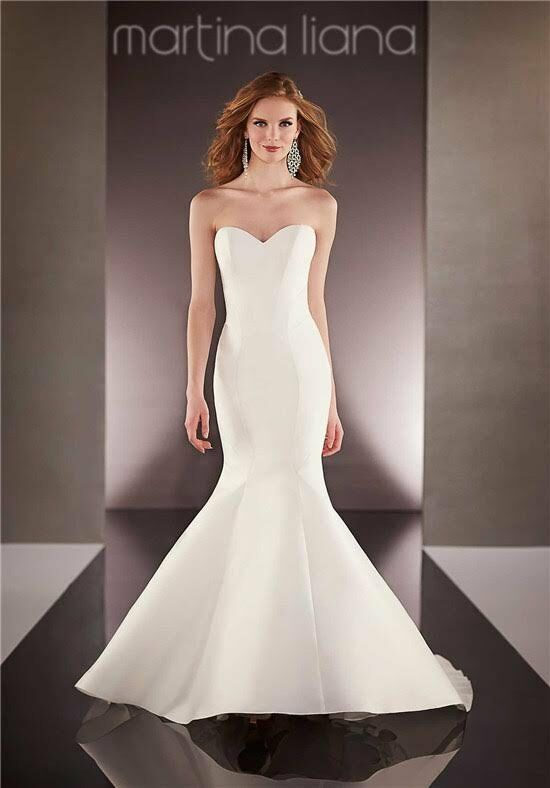 Martina Liana 688 Mermaid Wedding Dress