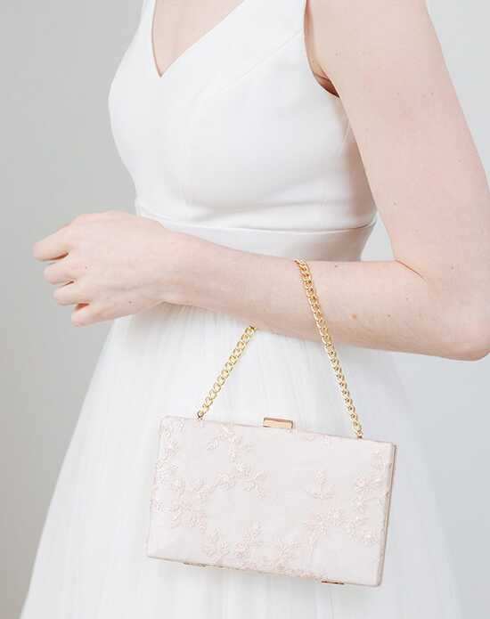 Davie & Chiyo | Clutch Collection Antoinette Box Clutch: Blush Gold, Ivory, Pink Clutches + Handbag