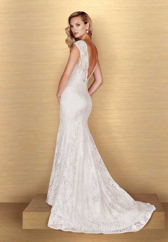 Paloma Blanca 4652 Sheath Wedding Dress