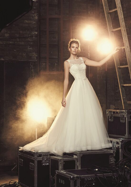 Mikaella 2085 A-Line Wedding Dress