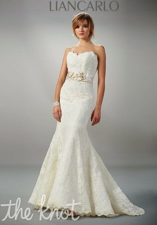 LIANCARLO 5803 Mermaid Wedding Dress