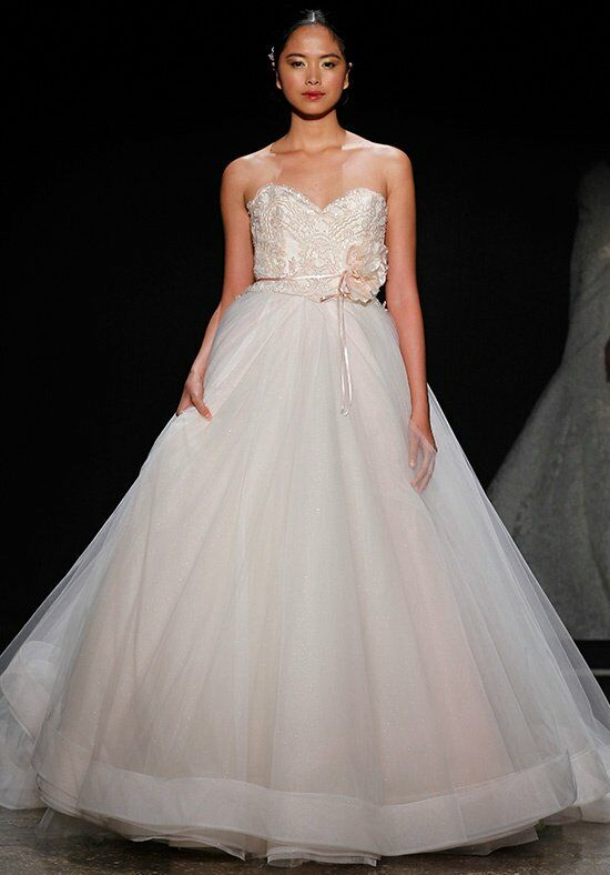 Lazaro 3403 Ball Gown Wedding Dress