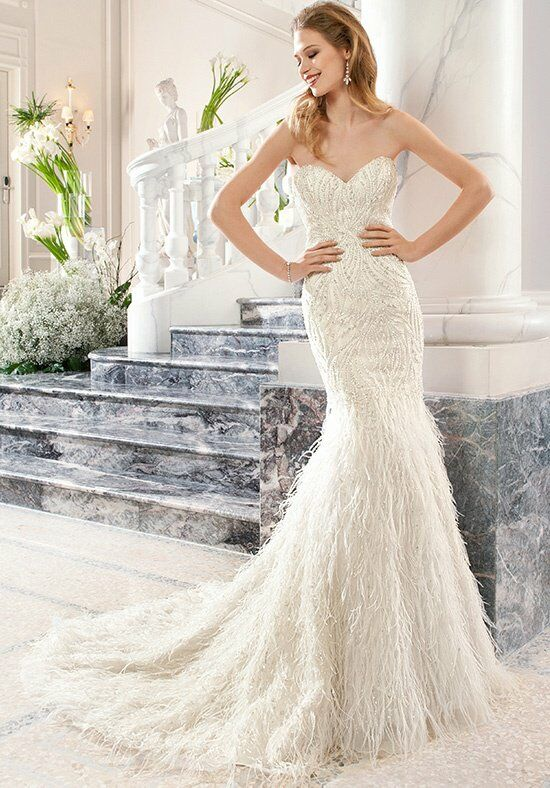 Demetrios C208 Mermaid Wedding Dress