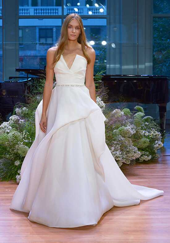 Monique Lhuillier Emerson Ball Gown Wedding Dress