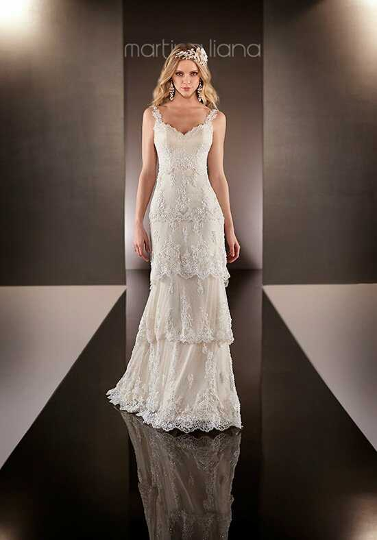 Martina Liana 597 Sheath Wedding Dress